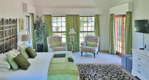 2 Bedroom Villa Green room