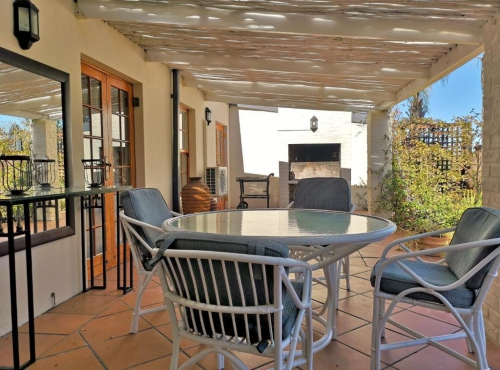 Val dOr Owners 3 Bedroom Cottage Patio